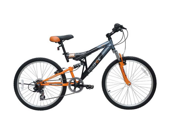 FIREFOX THERMO ORANGE/BLACK (9-12 YEARS) KID'S BICYCLE
