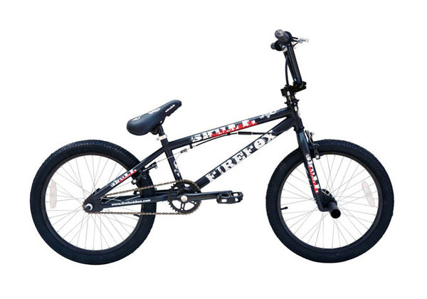 FIREFOX BMX SKULL MATT BLACK BICYCLE