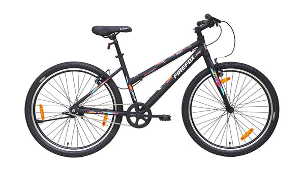 FIREFOX MISSFIT V SINGLE SPEED BLACK BICYCLE