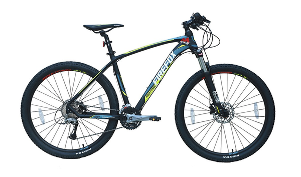 FIREFOX MOUNTRAIL 27.5 MATT BLACK BICYCLE
