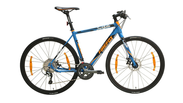 FIREFOX SURFELO HYBRID GLOSS BLUE BICYCLE