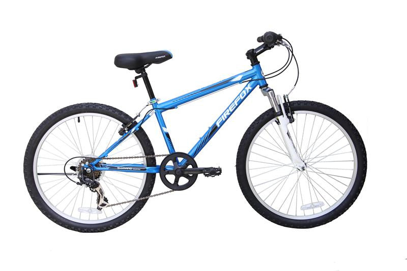 FIREFOX FUSION 24 BLUE/WHITE (9-12 YEARS) KIDS BICYCLE