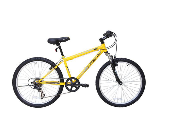 FIREFOX FUSION 24 YELLOW (9-12 YEARS) KIDS BICYCLE