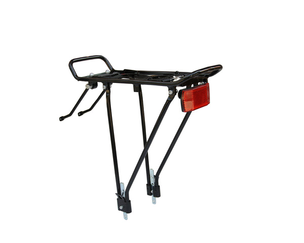 FIREFOX Bike Carriers-Rear Carrier - Alloy with Reflector