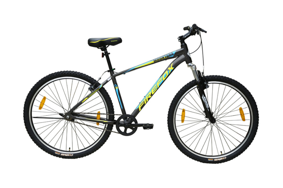 FIREFOX MOUNTANA SINGLE SPEED 29ER GREY BLACK BICYCLE