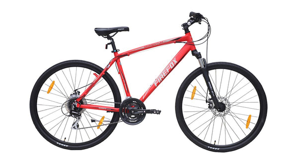 FIREFOX MOMENTUM PRO 700C MATT RED BICYCLE