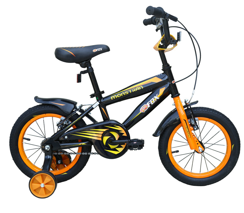 FIREFOX MONSTRAN 14 BLACK KID'S (3-5 YEARS) BICYCLE