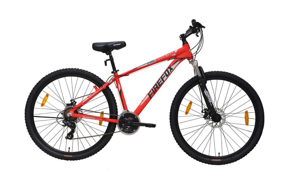 FIREFOX MOUNTANA 21 (DISC) 29ER RED BICYCLE