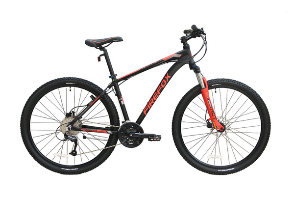 FIREFOX NUKE DISC 29ER BLACK/RED BICYCLE