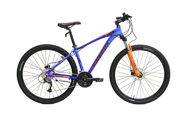 FIREFOX NUKE DISC 29ER BLUE/ORANGE BICYCLE