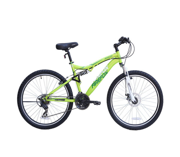 FIREFOX RAZOR DISC 21 SPEED LIME/WHITE BICYCLE