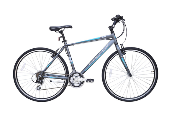 FIREFOX RAPIDE 21S GREY/BLUE BICYCLE
