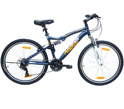 FIREFOX RAZOR V 21 SPEED BLUE/WHITE BICYCLE