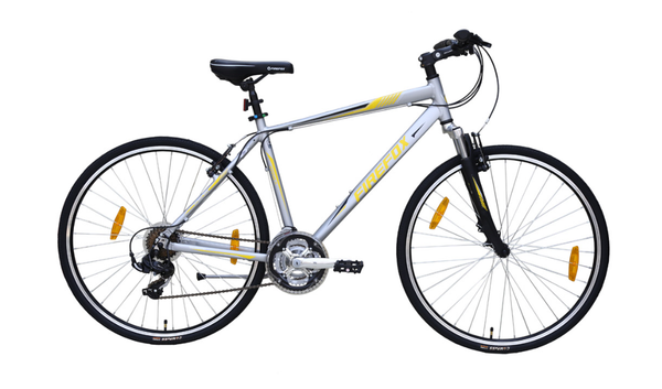 FIREFOX ROAD RUNNER PRO-V MATTE SILVER/GREY BICYCLE