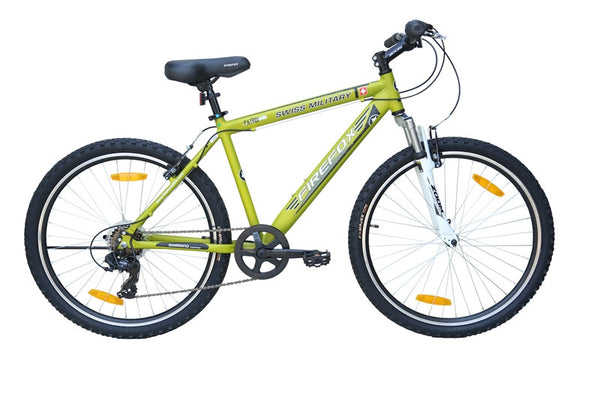 FIREFOX SWISS MILITARY PATROL 6 SPEED OLIVE BICYCLE
