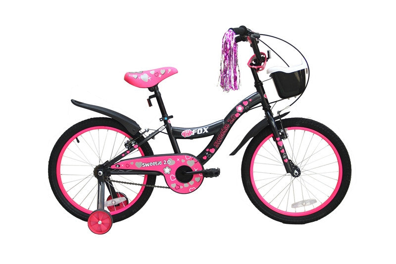 FIREFOX SWEETIE 20 DARK GREY (7-9 YEARS) KIDS BICYCLE