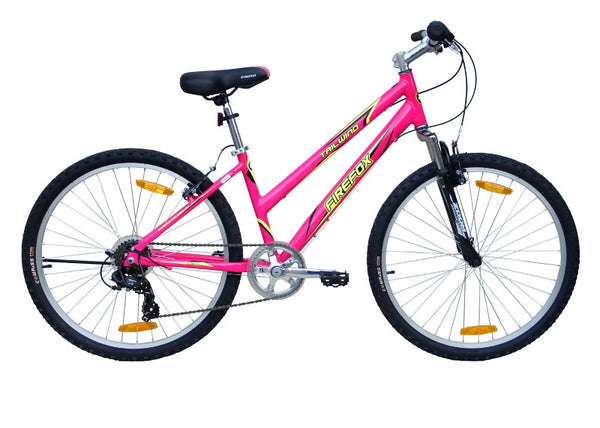 FIREFOX TAILWIND NEON PINK/BLACK BICYCLE