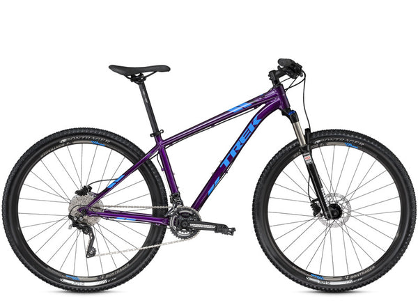 TREK X-CALIBER 9 29ER PURPLE I BLUE BICYCLE
