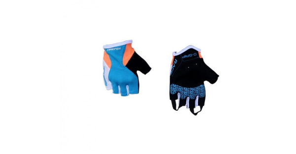 FIREFOX Cycling Gloves (Blue/Orange & Blue/Neon yellow)