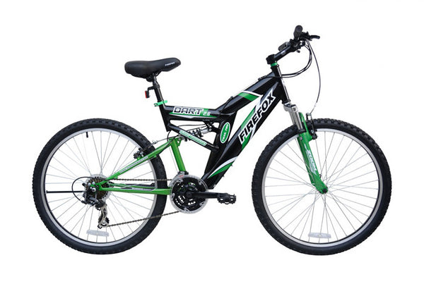 FIREFOX DART 2.6 21 SPD BLK/GRN BICYCLE