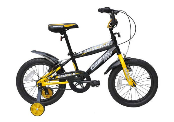 FIREFOX DEMON X 16 YELLOW (5-7 YEARS) KIDS BICYCLE