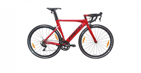 FIREFOX TSURUGI 700C RED ROAD BICYCLE
