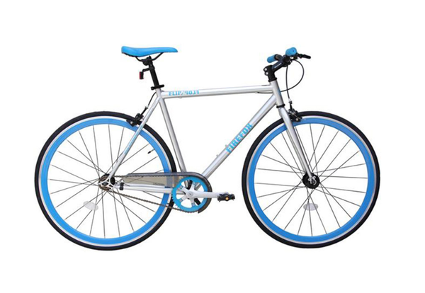 FIREFOX FLIP/FLOP SILVER/BLUE BICYCLE