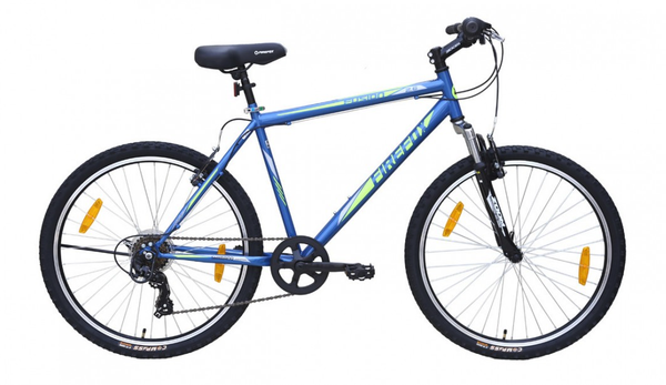 FIREFOX FUSION 2.6 6 SPEED BLUE GREEN BICYCLE