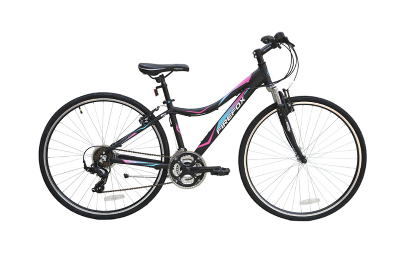 FIREFOX KARMA BLACK/PINK/BLUE BICYCLE