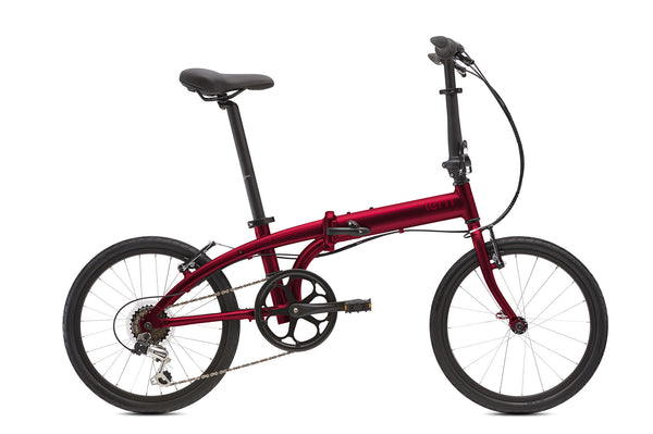 TERN LINK B7 RED FOLDING BICYCLE