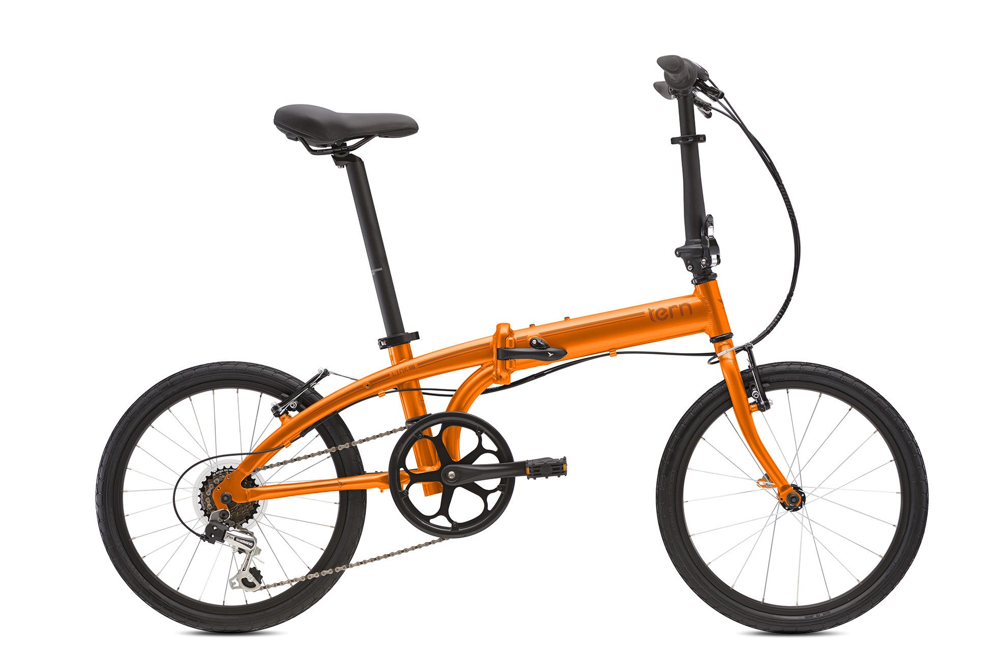 TERN LINK B7 ORANGE FOLDING BICYCLE