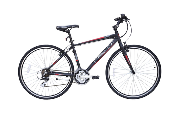 FIREFOX RAPIDE 21SPEED BLACK/RED BICYCLE