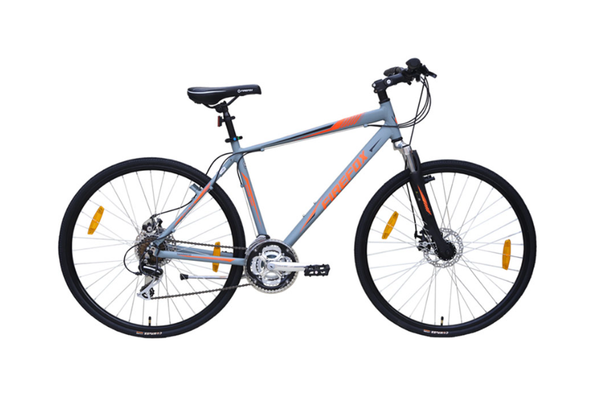 FIREFOX ROAD RUNNER PRO DISC MATT GREY BICYCLE