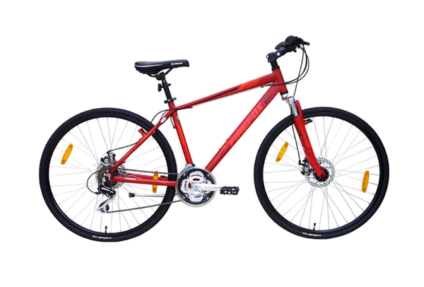 FIREFOX ROAD RUNNER PRO DISC MATT RED BICYCLE