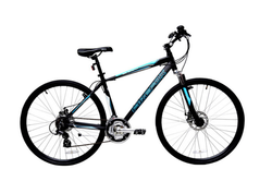FIREFOX ROAD RUNNER PRO DISC BLACK/BLUE BICYCLE