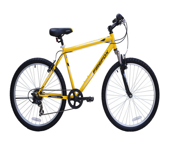 FIREFOX FUSION 2.6 6 SPEED YELLOW/BLACK BICYCLE