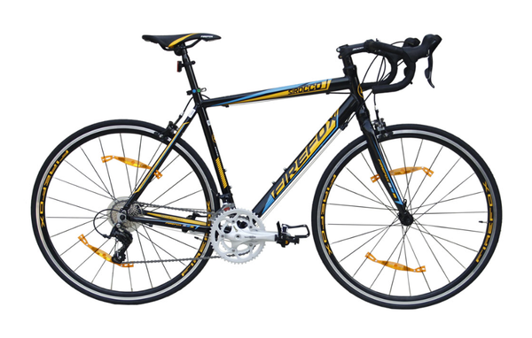 FIREFOX SIROCCO BLACK ROAD BICYCLE