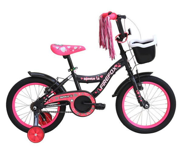 FIREFOX SWEETIE 16 GREY PINK (5-7 YEARS) KID'S BICYCLE