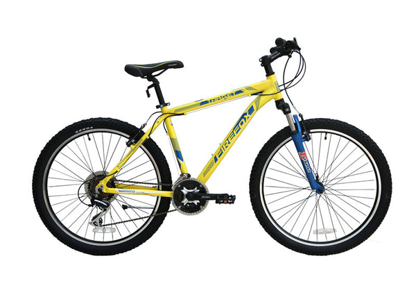 FIREFOX TARGET 21S YELLOW/BLUE BICYCLE