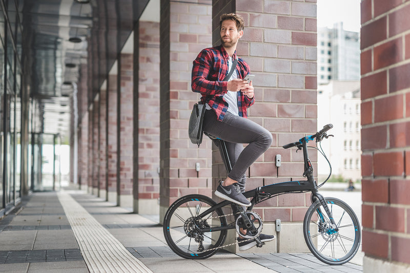 TERN LINK D7I FOLDING BICYCLE @ PLAYSMART.CO.IN