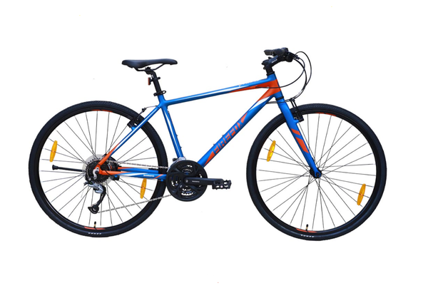 FIREFOX VOLANTE BLUE HYBRID BICYCLE