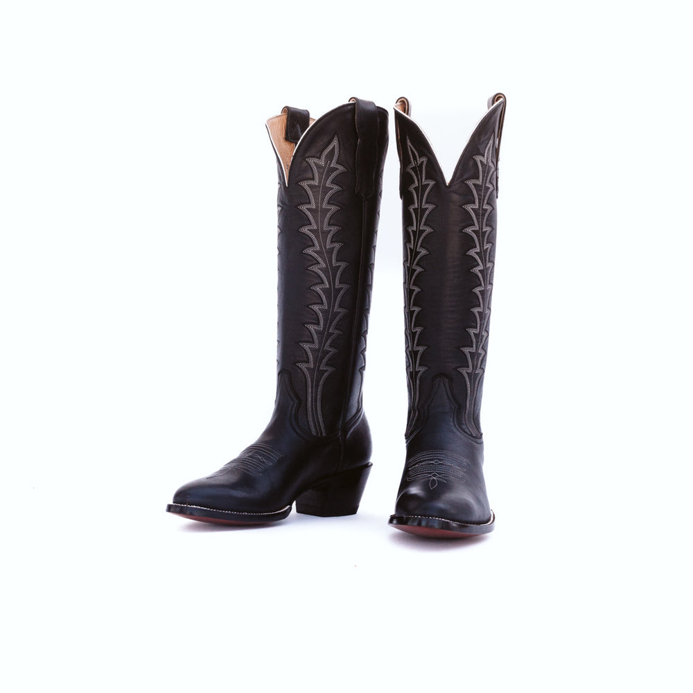CITY Boots Soncy Women's Black Cowboy Boots - CITY Boots