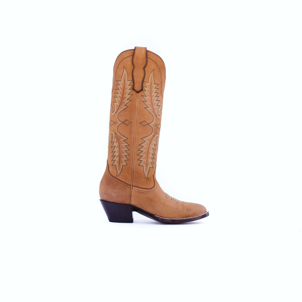 CITY Boots Green Valley Women's Tan Cowboy Boots - CITY Boots