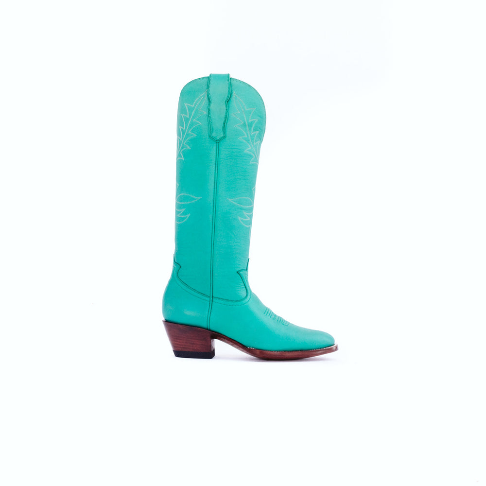 CITY Boots Beverly Women's Turquoise Cowboy Boots