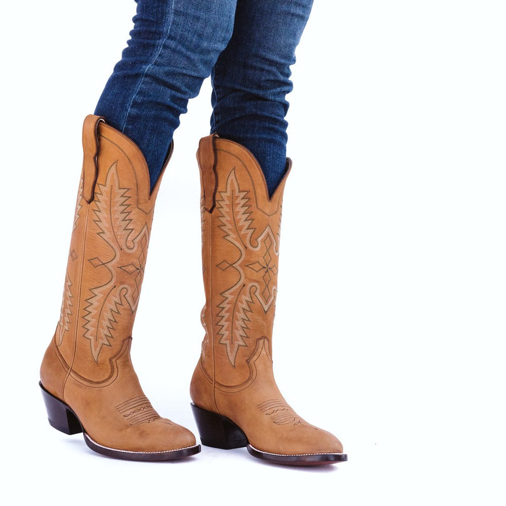 CITY Boots Green Valley Women's Tan Cowboy Boots