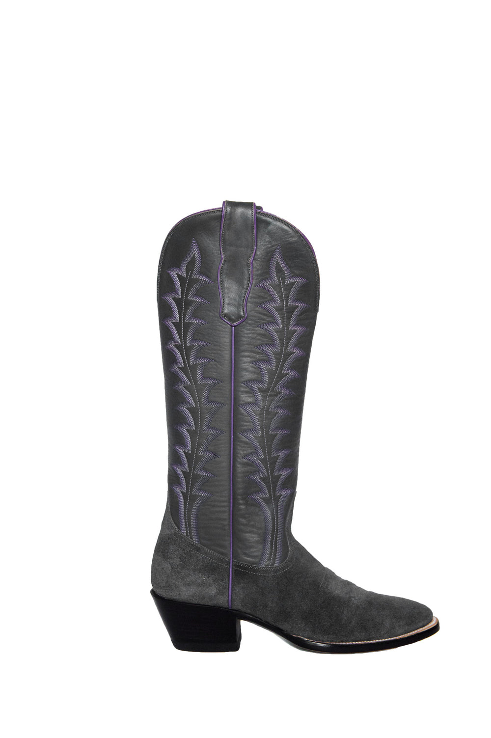 CITY Boots Milam Women's Gray Cowboy Boots - CITY Boots