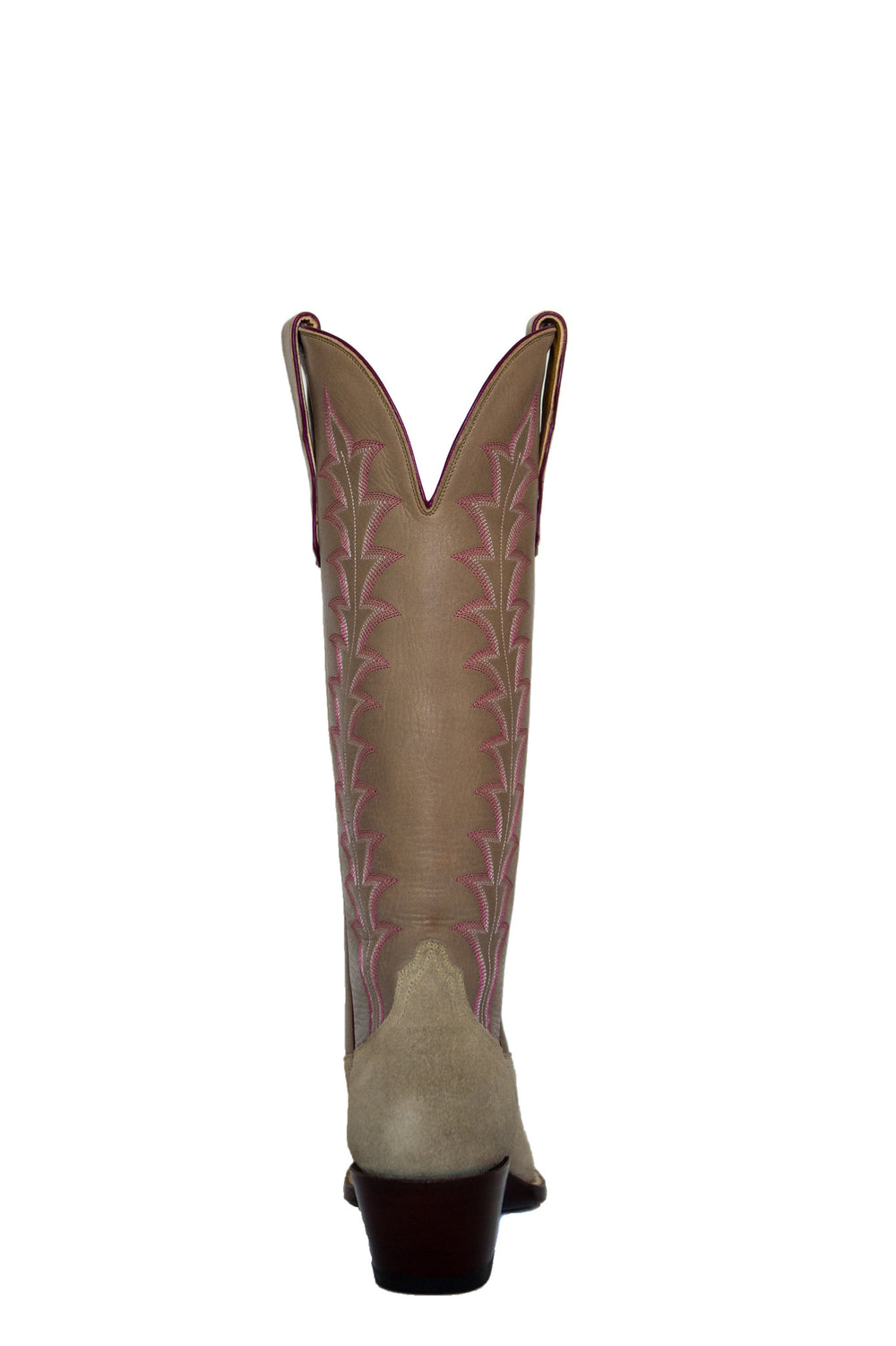 CITY Boots Bowie Women's Beige Two-Tone Cowboy Boots
