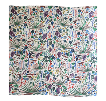 Texas Wildflower | Dorothy Shain for CITY Boots Silk Scarf ***WAITLIST***