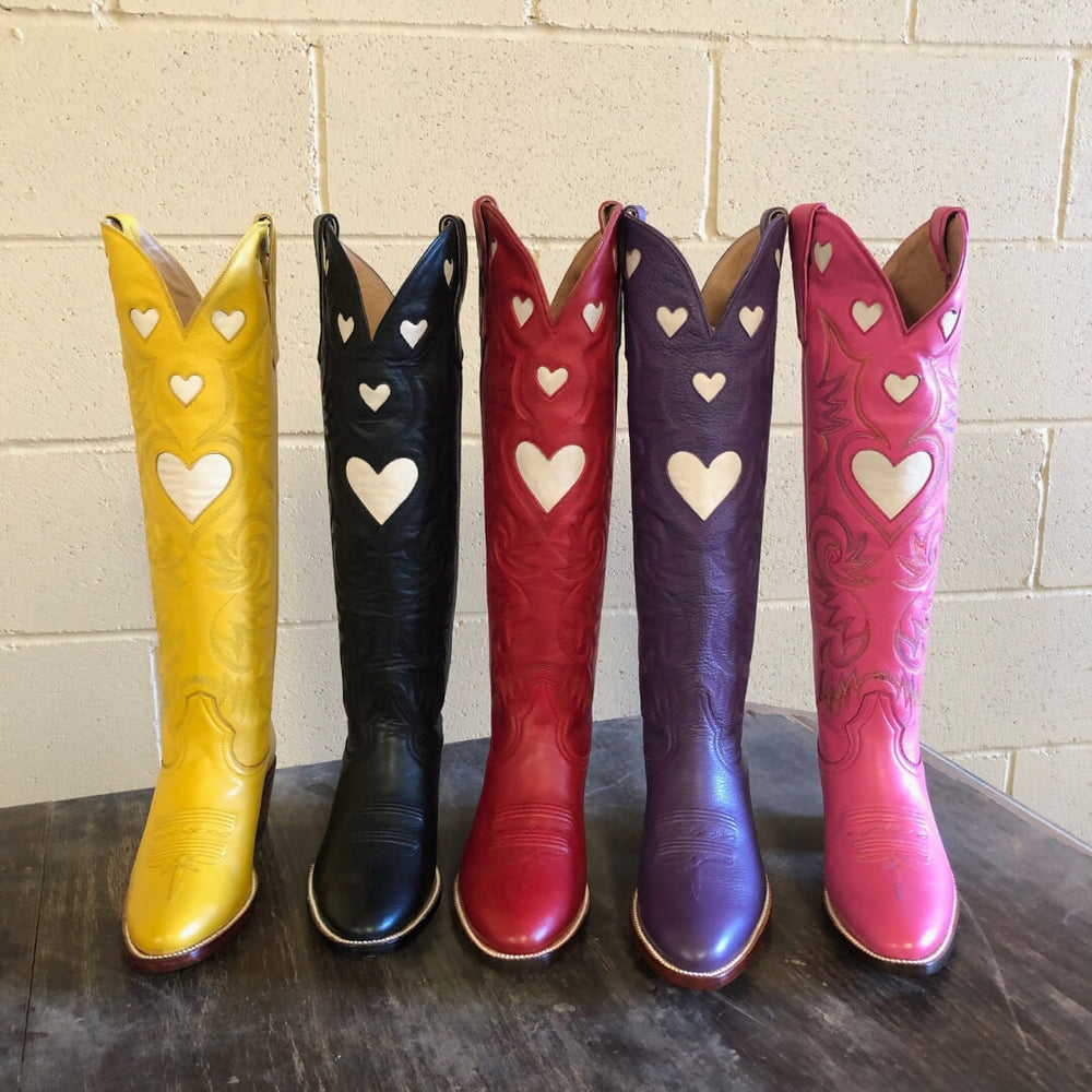CITY Boots Heart Boot Christmas Pre-Order CITY Boots Dallas Cowboy Boots