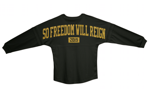 Black West Point Motto Jersey